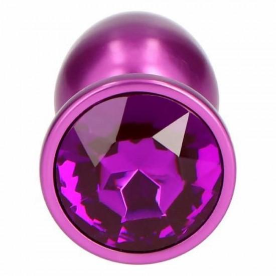 Purple Teardrop Small