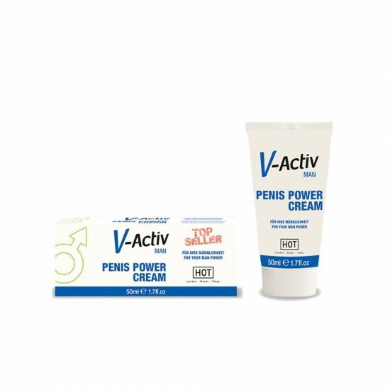 V-Activ Penis Power Cream for Men